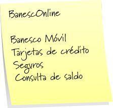 BanescOnline de Banco Banesco Universal es Banesco Online